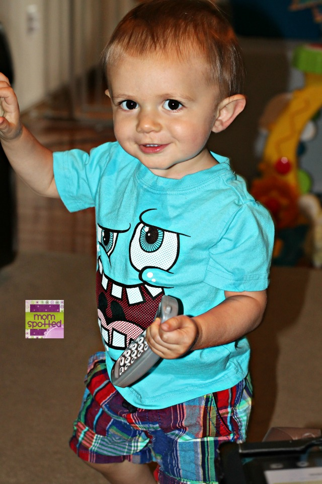 Sawyer in The Children's Place clothing