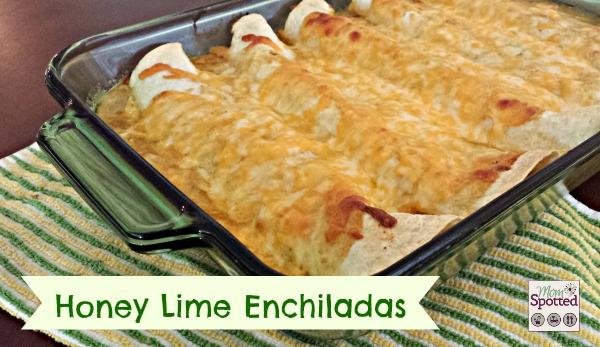 Honey Lime Enchiladas Recipe