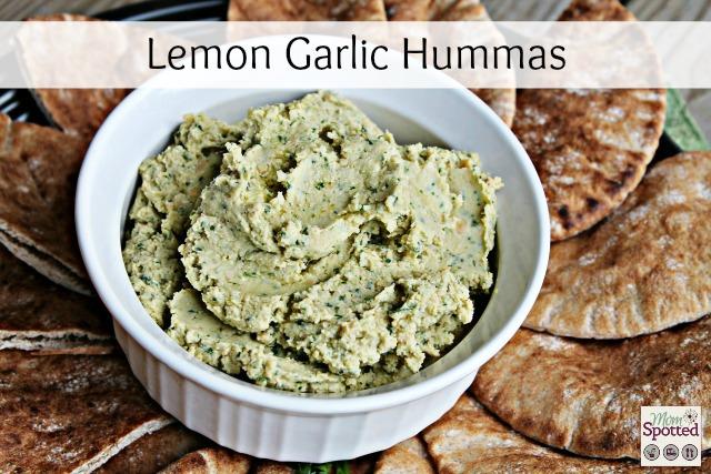 Lemon Garlic Hummas