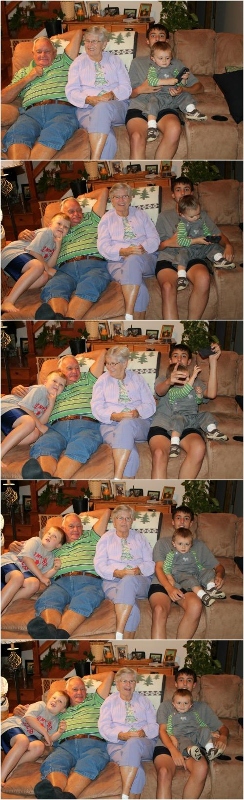 Grandparents Collage