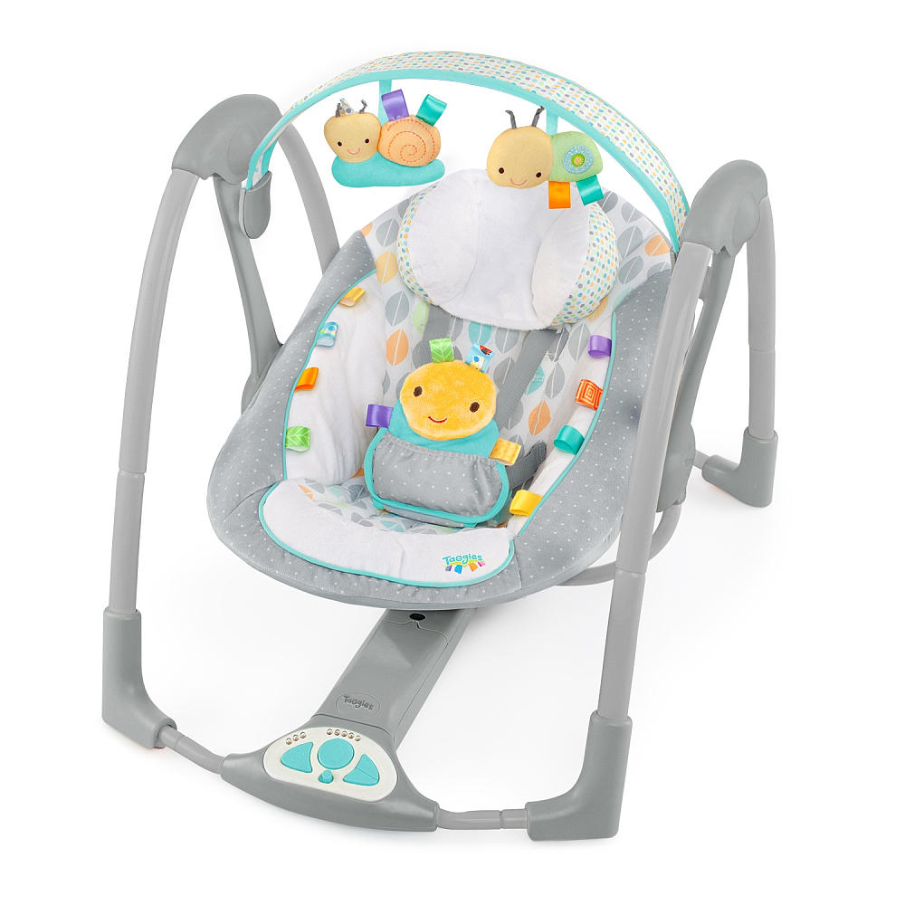 Taggies Swing N Go Portable Swing Review Mom Spotted
