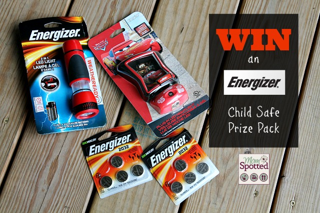 Energizer Child Safe Prize Pack