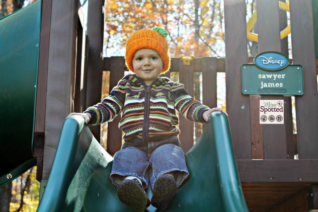 Johnny Gavin Sawyer Fall Autumn Pumpkin Hat Gymboree Photography