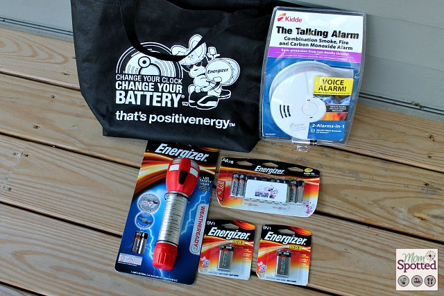 Energizer Change Your Clock Prize Pack