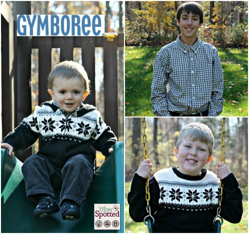 Gymboree 2013 Holiday Collection Fair Isle Collage