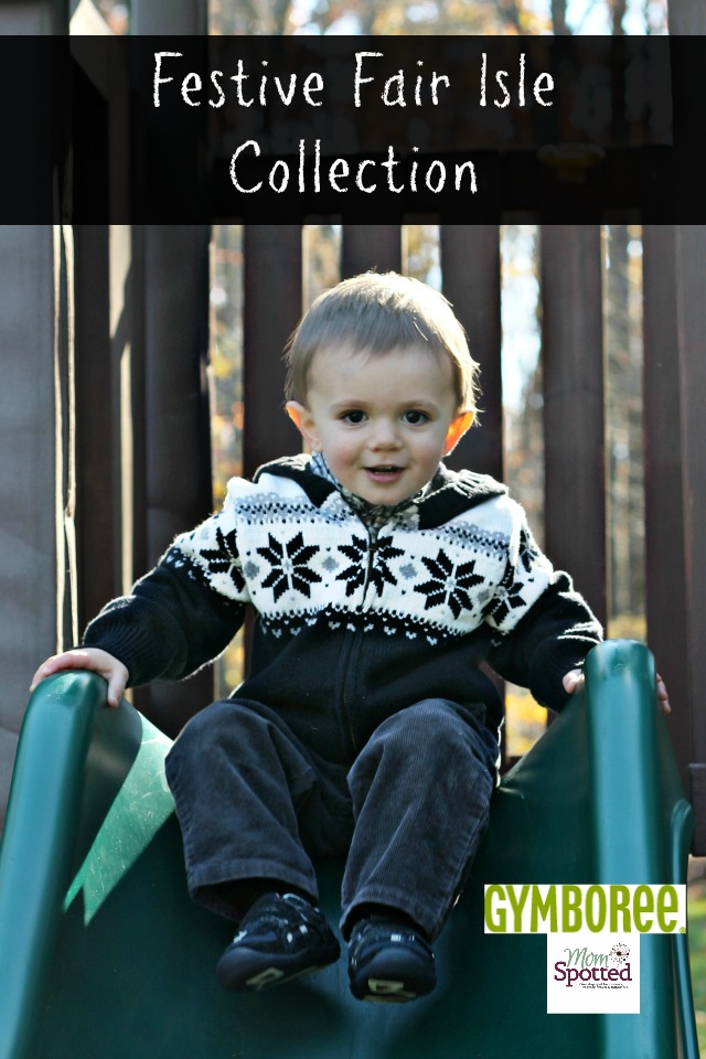 Gymboree Joyful Holiday Collection Festive Fair Isle Outfit Boys Holiday Line Sawyer James #Momspotted