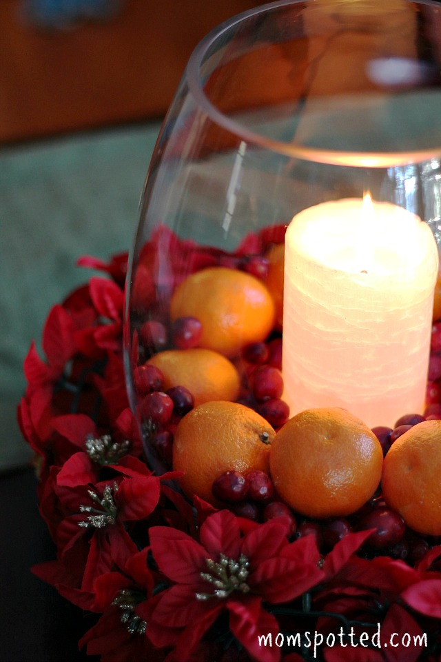 Easy Low Budget Holiday Centerpiece Ideas #HalosFun 2
