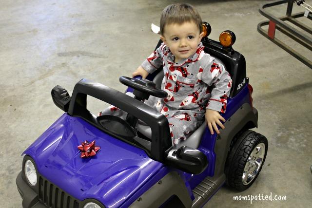 2013 Christmas Sawyer Joovy 4x4 ride