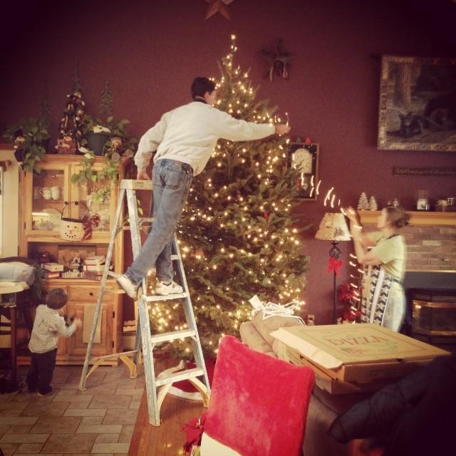 Dad's Christmas 2013 Tree