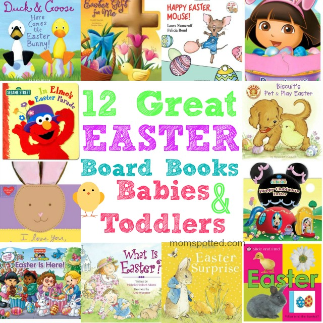 12 Great Easter Board Books for Babies and Toddlers #momspotted