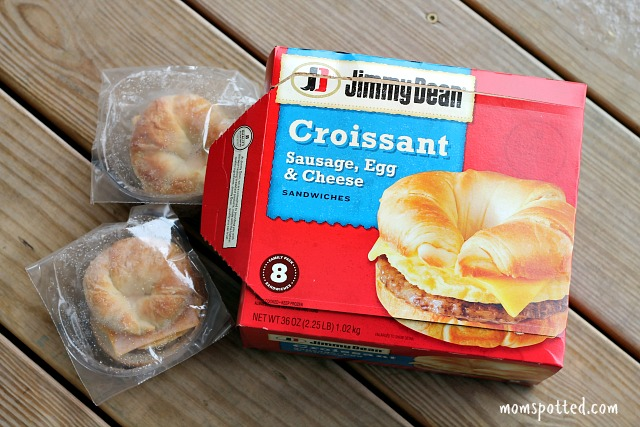 Jimmy Dean Sausage, Egg, and Cheese Croissant Sandwiches
