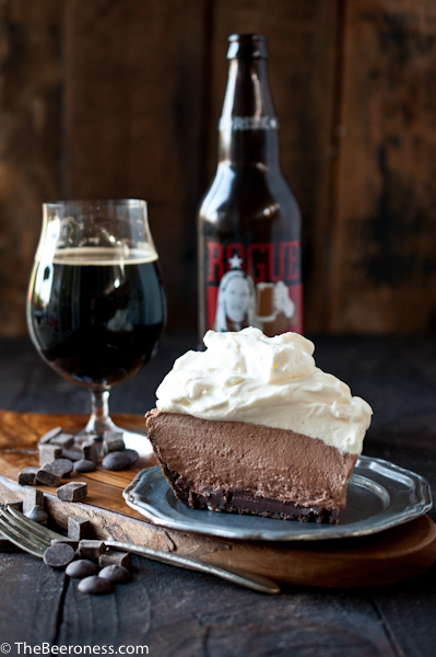 Mile High Chocolate Stout Pie from The Beeroness