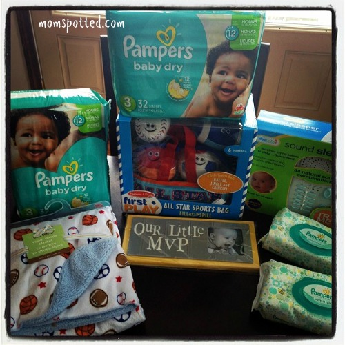 Pampers Game Day Giveaway #momspotted