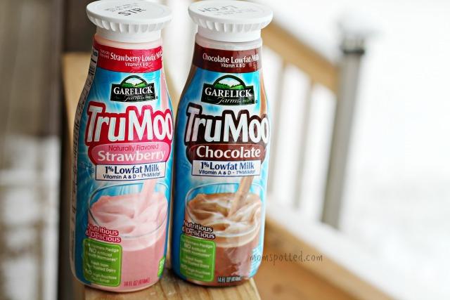 TruMoo Strawberry & Chocolate Lowfat Milk from Garelick Farms