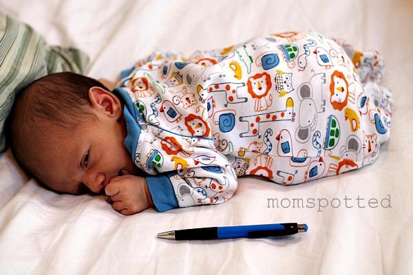 Sawyer James size comparison wth pen