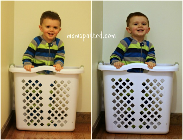 Sawyer James Instagram Laundry Basket Milestone Birthday TWO
