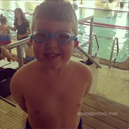 Gavin Swimming Goggles #momspotted
