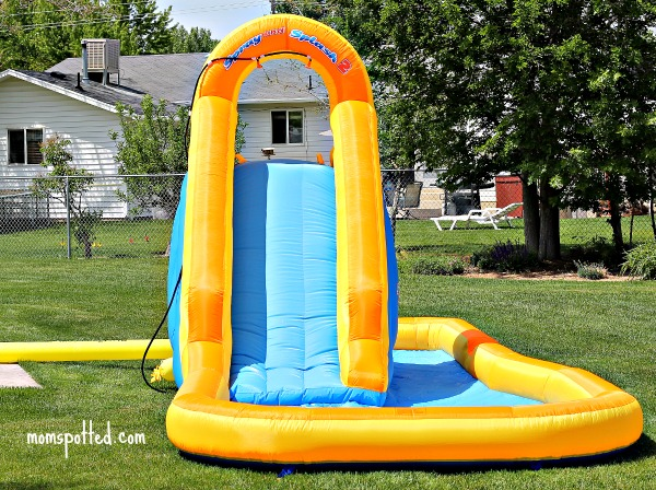 Blast Zone Spray-n-Splash 2 Inflatable Water Park