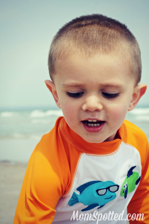 Sawyer James at Wells Beach