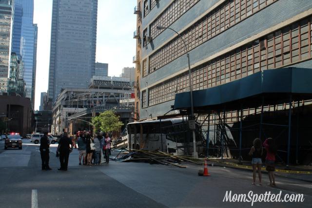 July Bus Crash on 42nd & 10th Street NYC