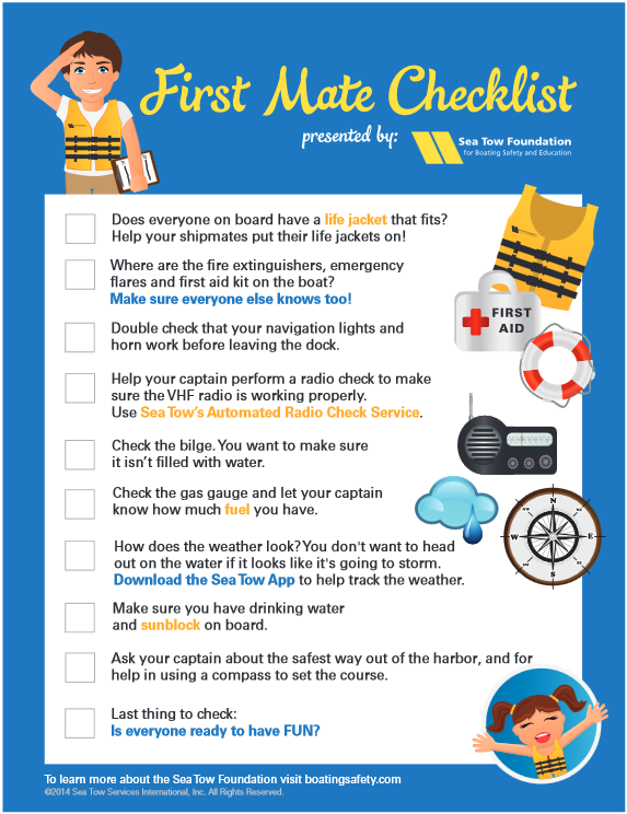 Sea Tow Safety Tips