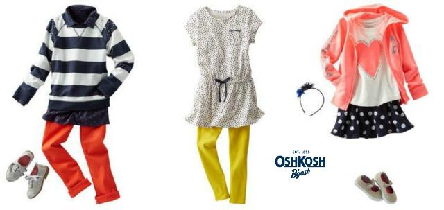 Girls OshKosh Back to school clothing