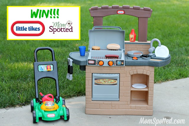 Just Like Dad Outside Toys For Toddlers From Little Tikes Plus Giveaway