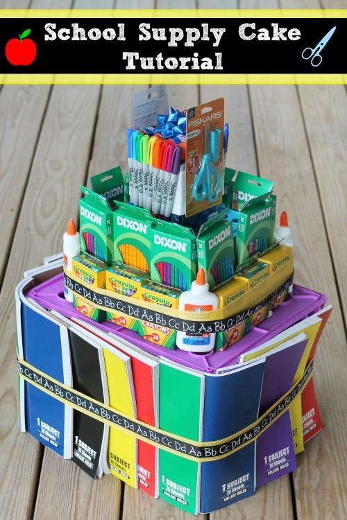 School Supply Cake Tutorial on MomSpotted.comIMG_1127