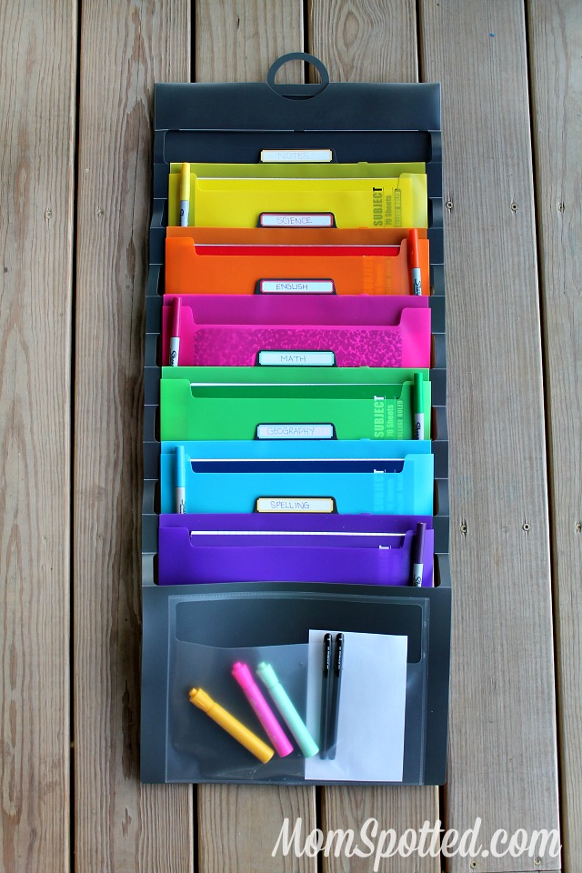 Hanging Collapsible Classroom Organizer for the Teacher