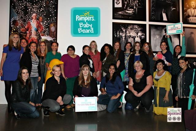 Pampers Baby Board Members Moms Blog Ambassadors 2013