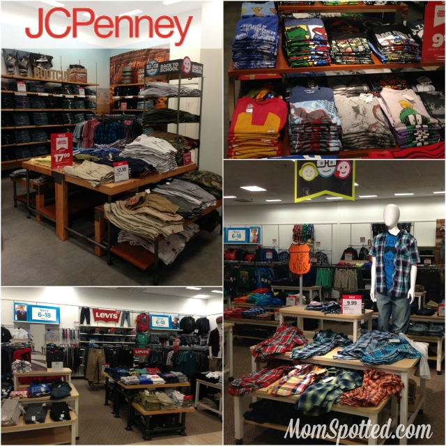 In store  JCPenney  #ThatsMyKid Collage