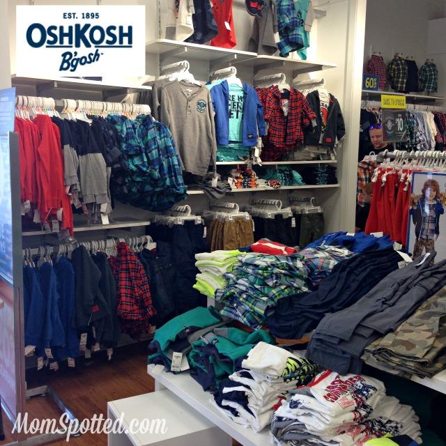OshKosh Back to School Shopping