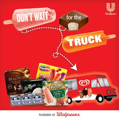 Walgreens Unilever Ice Cream
