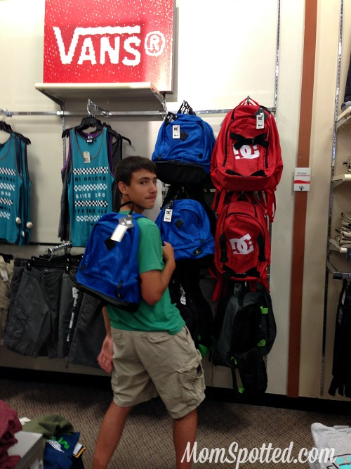 backpack JCPenney #ThatsMyKid
