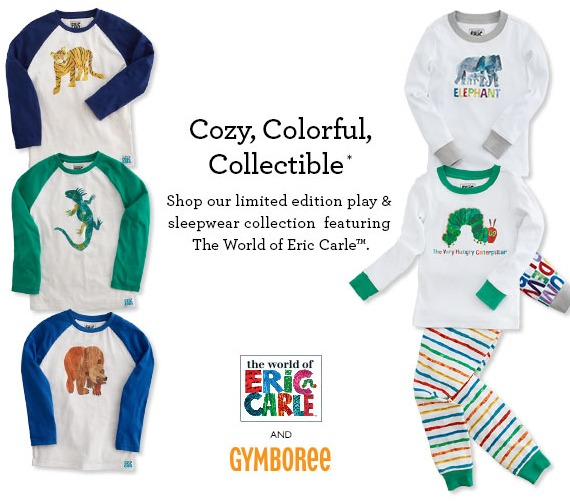 New Eric Carle Collection at Gymboree! #WhatDoYouSee