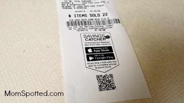 Walmart® Savings Catcher App