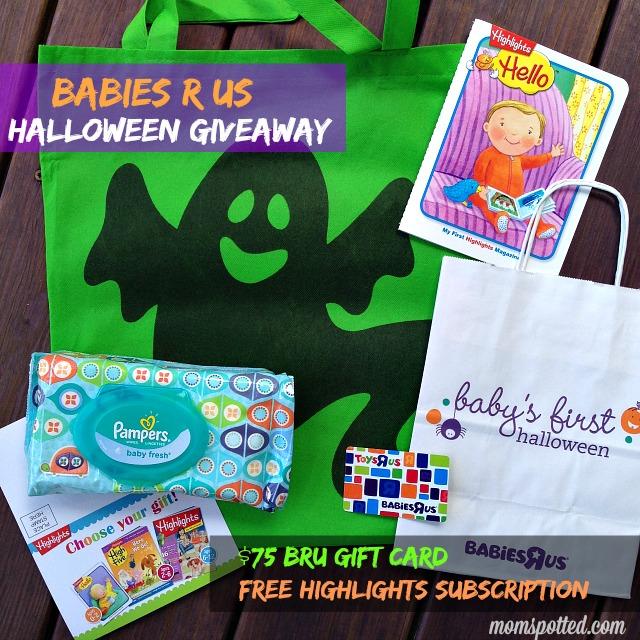 Babies R Us Halloween Giveaway