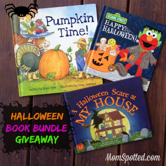 Halloween Book Bundle Giveaway