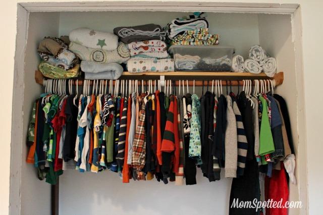 Organizing Kids Clothing & Closets