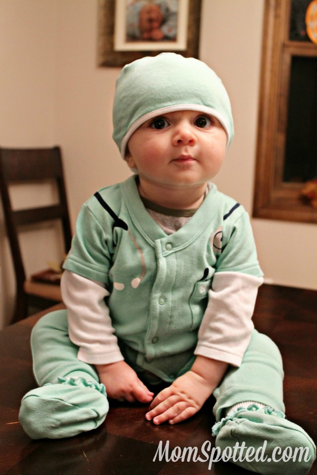 Sawyer baby Dr. doctor costume