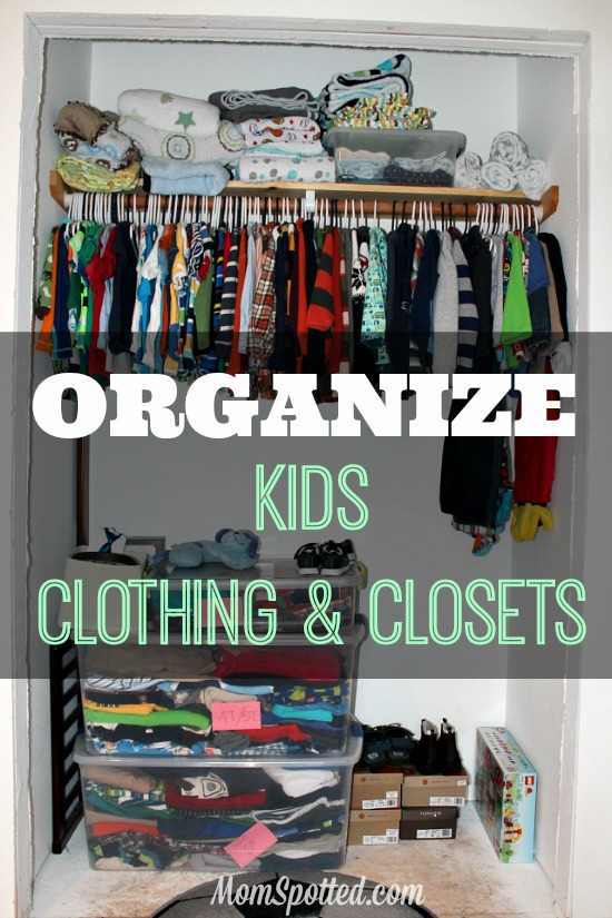 How I Organize My Toddler S Clothing And Closet