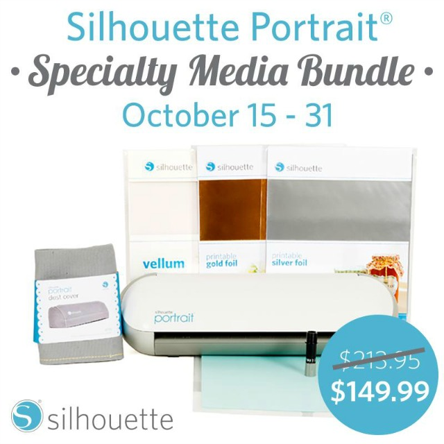 Silhouette Portrait Bundle Sale October 2014