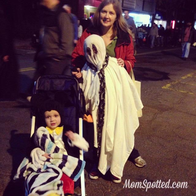 2014 Halloween Rag Shag Parade with Grandma