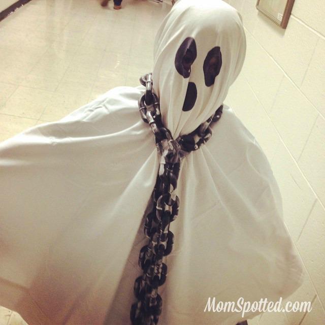 2014 Halloween Gavin Ghost Costume