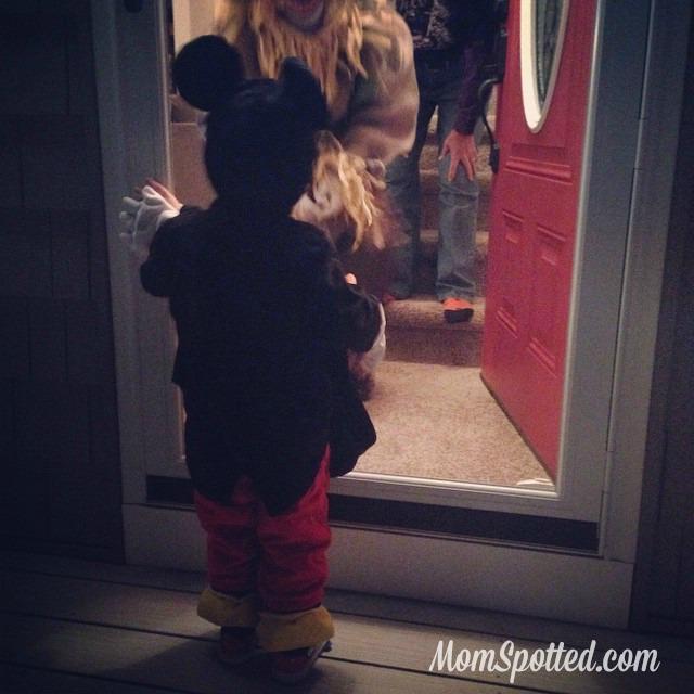 2014 Halloween Sawyer Trick or Treating