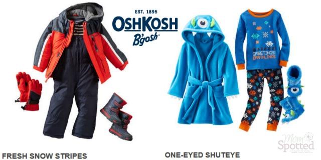 OshKosh Outerwear & Sleepwear