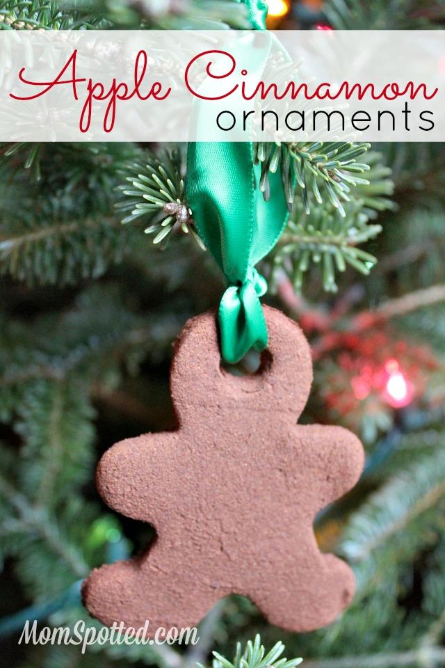 DIY Apple Cinnamon Ornaments Recipe
