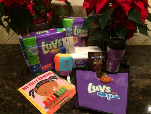 Luvs Leak Free Holiday & Giveaway!