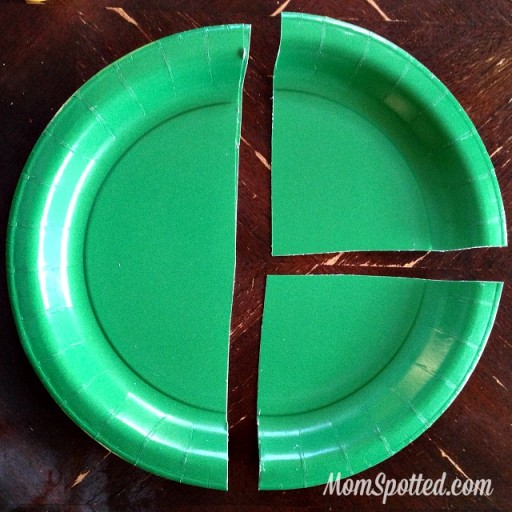 Paper Plate Christmas Trees {Kid Friendly Holiday Craft} Tutorial Found on MomSpotted.com