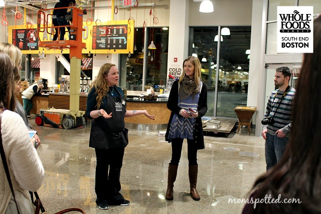 Whole Foods Blog Event in Boston's South End